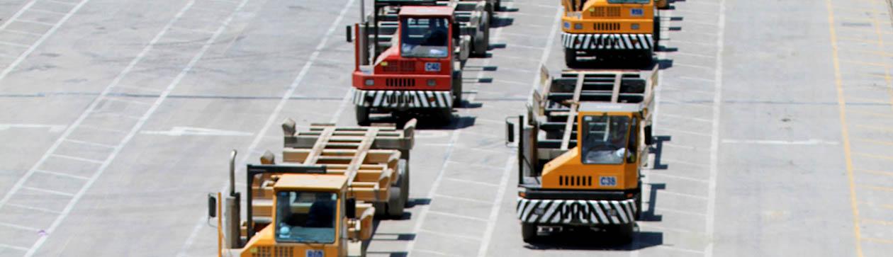 Equipo de carga del Puerto de Cartagena