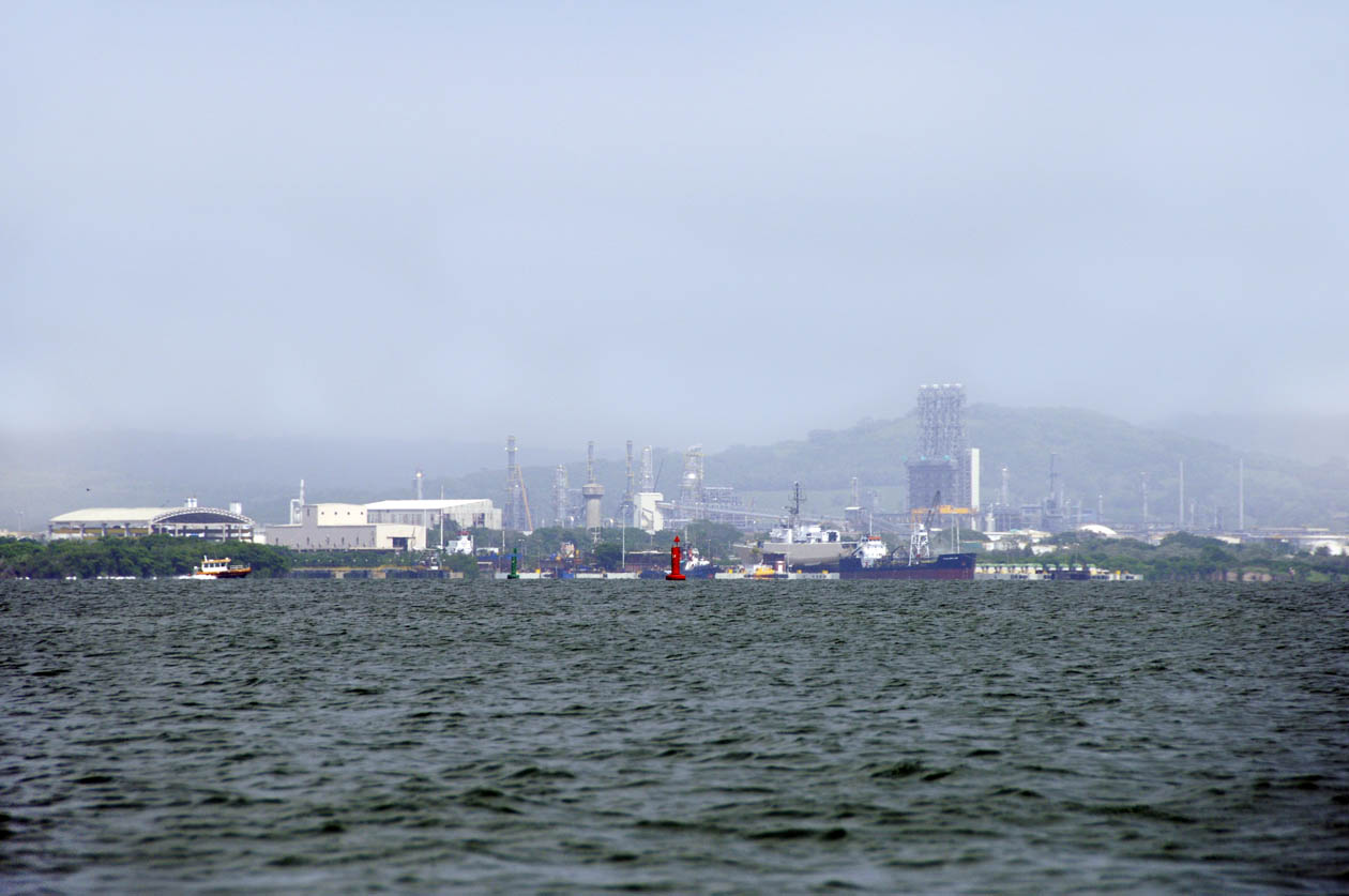 Cartagena´s Bay industrial complex