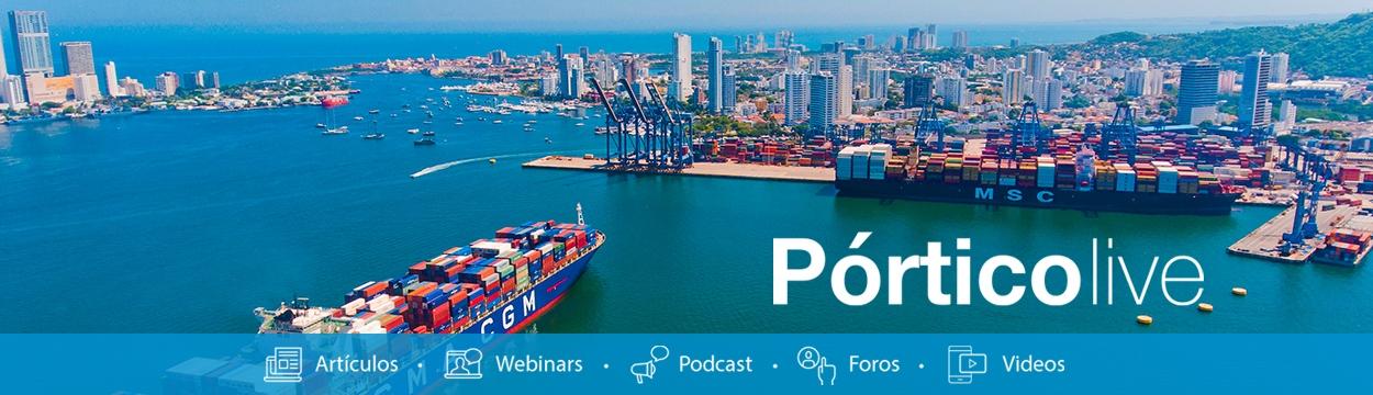 Transporte de carga marítima Puerto Cartagena