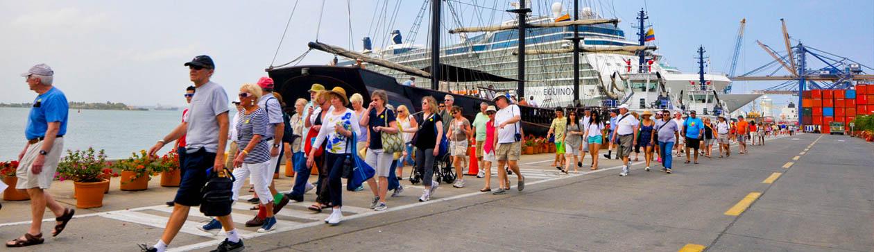 Más de 500.000 turistas reciben excelente servicio en la Terminal de Cruceros SPRC