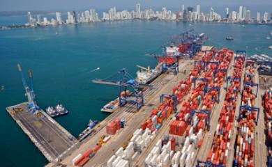 arribará por primera vez a Cartagena un buque de 8.800 TEUS