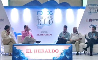 """En el marco del foro """"Miremos al Río"""" realizado en Barranquilla este viernes 20 de mayo los gerentes de los puertos de Barranquilla y Cartagena debatieron sobre las posibilidades de integración y complementariedad de los Puertos de la región"""