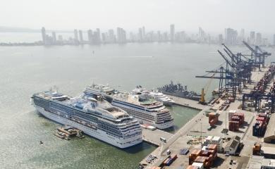 Muelles de la Sociedad Portuaria Regional de Cartagena