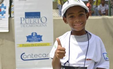 """Con el apoyo de la Fundación Puerto de Cartagena culminó el programa """"Ajedrez al Parque"""" que este año contó con la participación de 1.600 jóvenes de distintos barrios de la ciudad de Cartagena"""