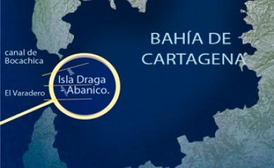 El nuevo canal alterno se ejecutará entre las islas Draga y Abanico