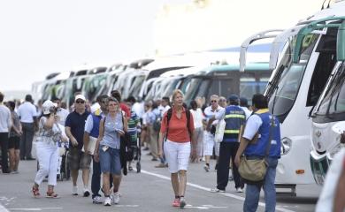 Con las 41 recaladas que se esperan durante el primer mes del año y los 98.063 visitantes que llegarán a Cartagena a bordo de cruceros, enero se consolida como el más activo de toda la temporada.