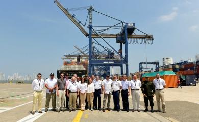 El Grupo Puerto de Cartagena recibió la visita de representantes de la oficina Internacional de Asuntos Antinarcóticos y Procuración de Justicia (INL por sus siglas en inglés) de los Estados Unidos.