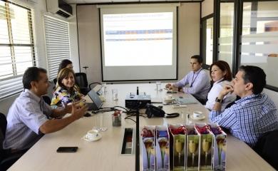 Representantes de Colcafé sostuvieron una reunión en la Organización Puerto de Cartagena donde se ratificó el compromiso de seguir exportando este café colombiano por las terminales de Sociedad Portuaria Regional de Cartagena y Contecar.