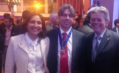 La Sociedad Colombiana de Ingenieros, entregó el Premio Nacional Ambiental al Canal de Acceso