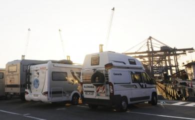 Entre abril y diciembre de 2016 la Organización Puerto de Cartagena atendió 207 operaciones de carga, en las cuales se movilizaron vehículos de turistas que decidieron recorrer el continente americano por tierra.