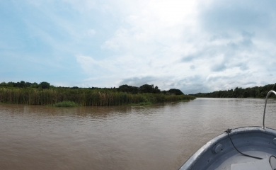 El capitán Alfonso Salas, Gerente de la Sociedad Portuaria de Cartagena, insistió en la recuperación del Canal del Diqu
