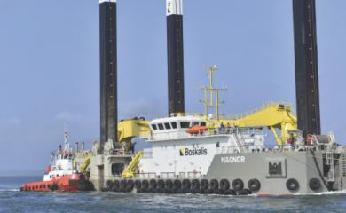 Dragado de Profundización de la zona de maniobras del Terminal Marítimo de Manga