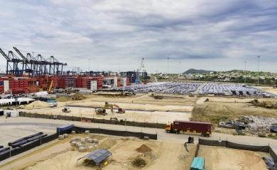 Obras de adecuación para visita del Papa a Puerto Cartagena
