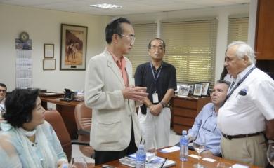 Visita del Embajador de Japón al Puerto de Cartagena