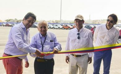 Con 2.650 puntos de parqueo fue inaugurado en la terminal de Contecar un patio exclusivo para los vehículos Renault que se importan y exportan desde la Organización Puerto de Cartagena