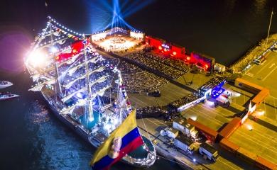 En el evento debutó el primer núcleo constitutivo de la Orquesta Sinfónica de Cartagena