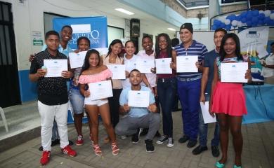 Se capacitaron a través de la Fundación Puerto de Cartagena, más de 150personas de las comunidades vecinas de SPRC y Contecar