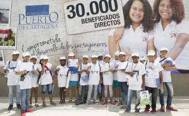La Fundación Puerto de Cartagena apoya el programa de Ajedrez al Parque hace 5 años