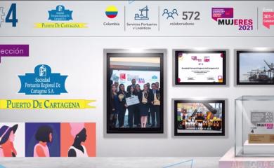 Sociedad Portuaria de Cartagena es un gran lugar de trabajo para las mujeres