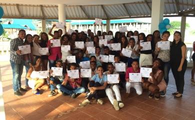 """Con un total de 56 participantes concluyó el proceso formativo del programa """"Juventud Líder"""" de 2016, uno de los proyectos que desarrolla la Fundación Puerto de Cartagena (FPC)"""