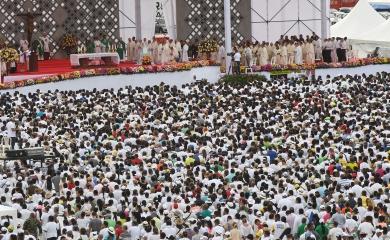 Cerca de 200 millones de televidentes en todo el mundo tenían los ojos puestos en la terminal de Contecar el pasado 10 de septiembre cuando el papa Francisco cerraba su visita en territorio colombiano con una misa campal para los habitantes de la región Caribe.