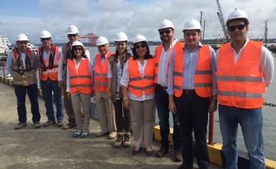 Proyecto portuario de la Sociedad Puerto Industrial del Aguadulce