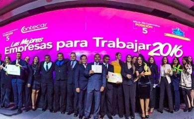 Sociedad Portuaria Regional de Cartagena en la categoría de empresas con más de 500 empleados mejora cinco posiciones respecto al ranking del año pasado cuando ocupó el décimo lugar. Contecar en la categoría de empresas con menos de 500 empleados mejora 13 posiciones respecto al ranking de 2015 cuando ocupó el puesto 18.