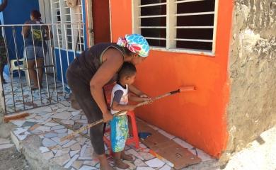 El canal de Nuevo Oriente también llamado Canal Corvivienda fue una obra priorizada por los habitantes del sector quienes de la mano con la Fundación Puerto de Cartagena construyeron un plan de desarrollo para la atención de sus necesidades más apremiantes.