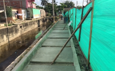El proyecto de recuperación ambiental del canal Corvivienda se encuentra listo después de $2.000 millones de pesos y seis meses de trabajos ejecutados por Contecar. El canal se encuentra ubicado entre los Barrios de Ceballos y Nuevo Oriente (los cuales hacen parte de la zona de influencia de la Organización Puerto de Cartagena).