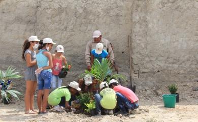 Sensibilización ambiental Fundación Puerto Cartagena