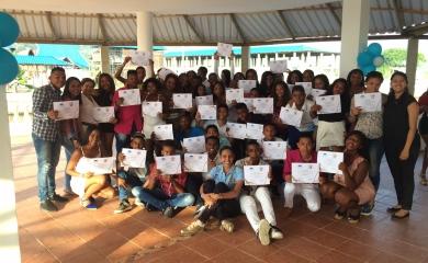 Juventud Líder es un programa que brinda oportunidades de desarrollo integral a jóvenes en condiciones de riesgo de las comunidades vecinas a Contecar y SPRC.
