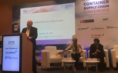 Durante el Toc Americas, que tuvo lugar la entre los días 17 y 19 de octubre, Giovanni Benedetti director comercial de la Organización Puerto de Cartagena, realizó dos presentaciones.