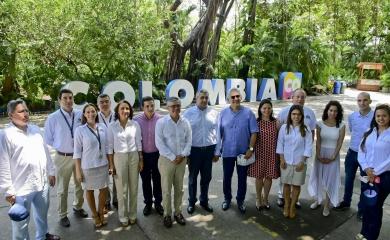 terminal de cruceros Cartagena recibio al secretario de omt