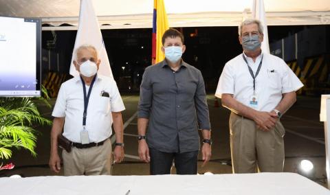 Grupo Puerto de Cartagena firma convenio de cooperación voluntaria con el Ministerio de Justicia