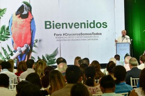 """Foro """"Cruceros Somos Todos"""" tendencias, retos y oportunidades de la industria de cruceros para Cartagena"""