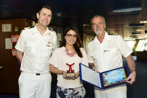 """Una de las líneas de cruceros más grandes y reconocidas del mundo """"Carnival Cruise Lines"""", trajo por primera vez a Cartagena el crucero Carnival Splendor, el cual cumplió su recalada inaugural"""