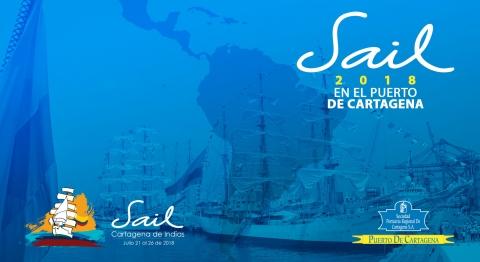 """Llega a los muelles de Sociedad Portuaria """"Velas Latinoamérica 2018"""" el evento que reúne a buques emblemáticos de diferentes países durante una regata por todo el sur del continente Americano."""