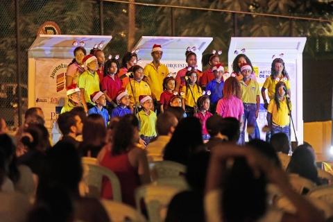 """Musical """"Por tus sueños"""", una pieza teatral con que la Fundación Puerto de Cartagena cerró su ciclo de actividades en el año 2017."""