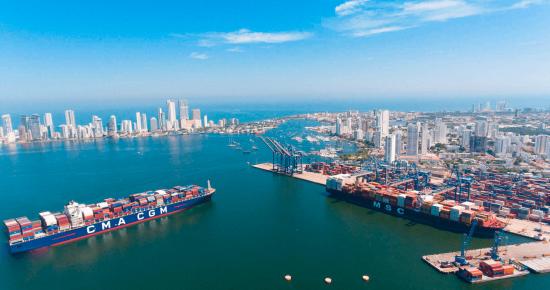 Entre las autopistas marítimas más grandes del mundo