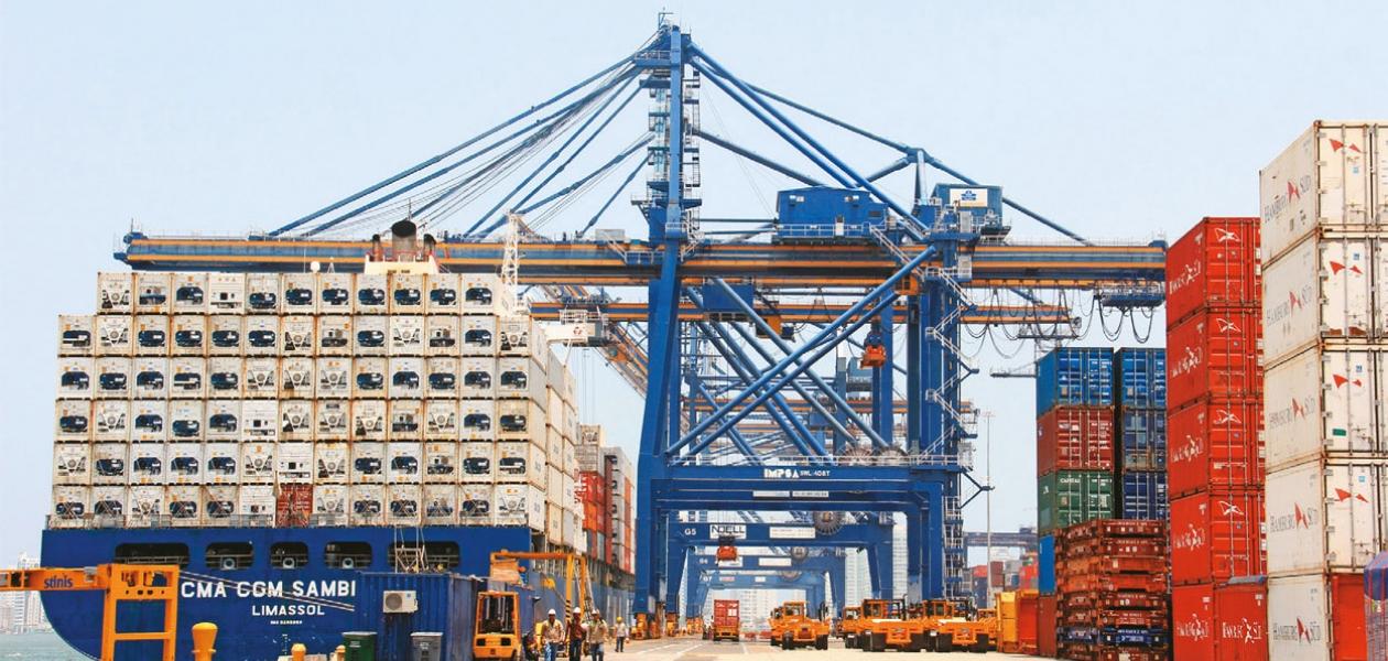 Plataforma logística del Puerto de Cartagena