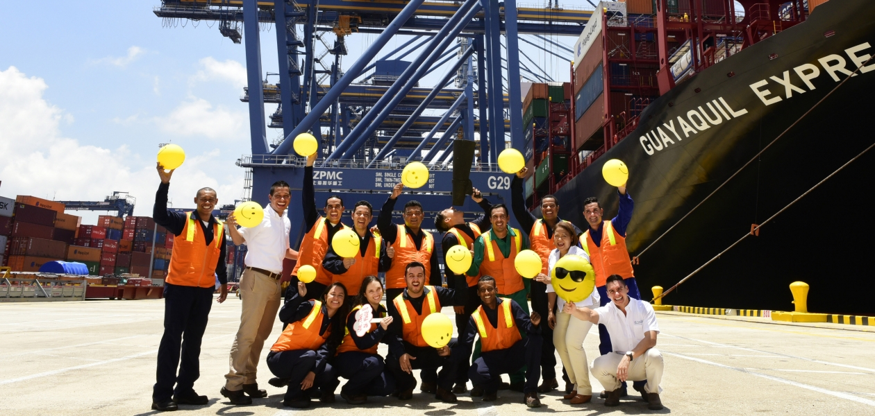 The Port of Cartagena firmly believes in Colombian talent, and devotes time and effort to build the best team
