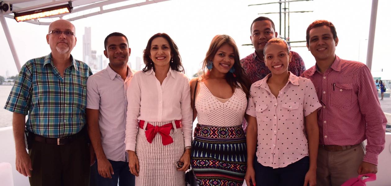 Representantes de medios radiales, escritos, televisivos y digitales de la ciudad de Cartagena dieron pausa a sus rutinas y atendieron la convocatoria