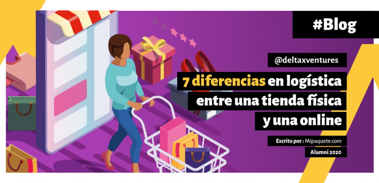 7 diferencias en logística entre una tienda física y una online