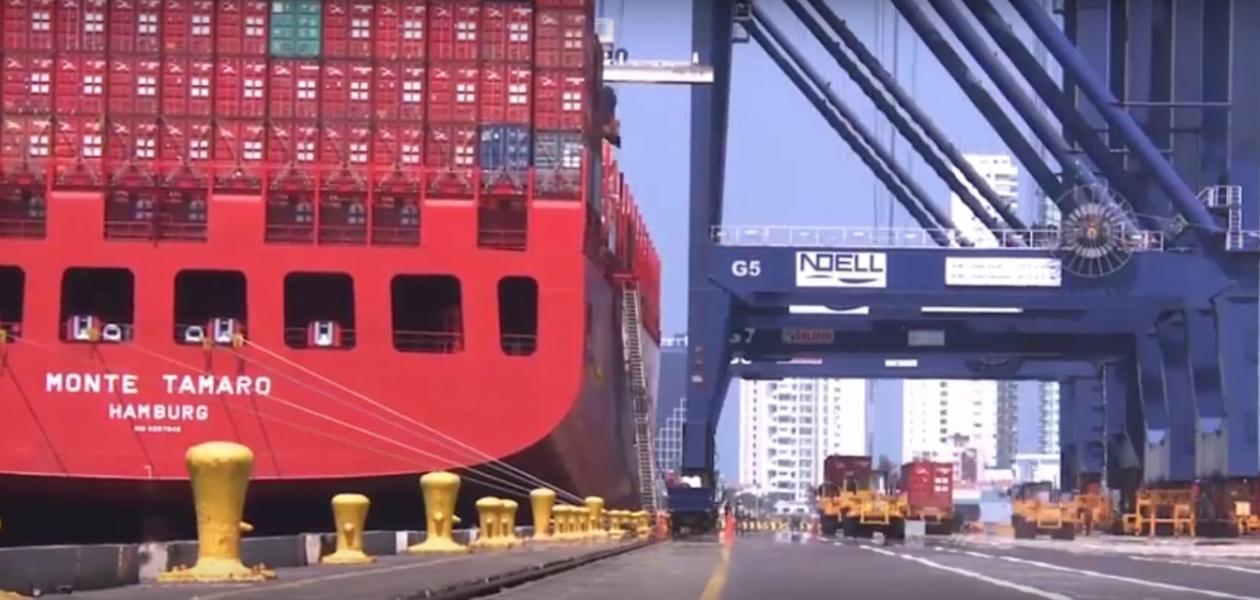 Plataforma portuaria - Canal de Panamá