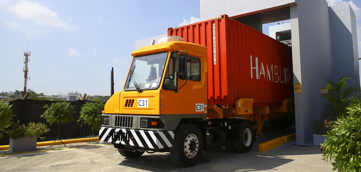 Escáneres de última tecnología se ponen en marcha en el Puerto de Cartagena