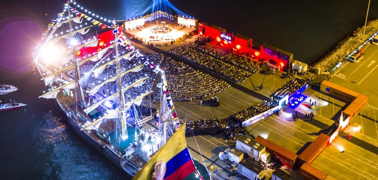 En el evento debutó el primer núcleo constitutivo de la Orquesta Sinfónica de Cartagena.