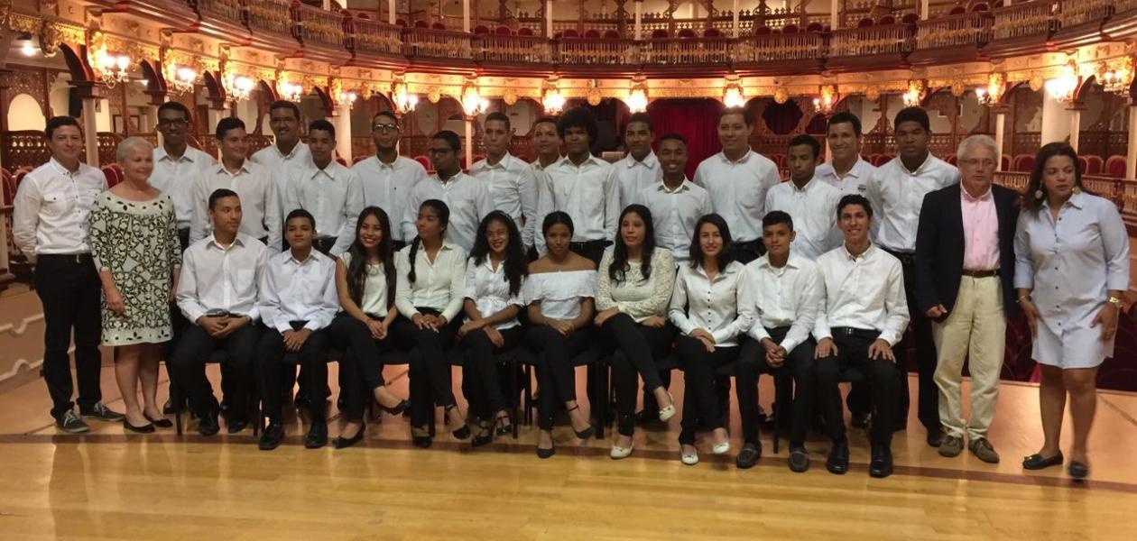 Inicia elprimer ciclo constitutivo de la Orquesta Sinfónica de Cartagena con el apoyo de la Fundación Puerto de Cartagena