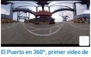 cinco minutos de escenarios con la operación logística y portuaria del Grupo Puerto de Cartagena desde diferentes ángulos.